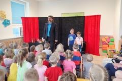 Kouzelnické představení v MŠ