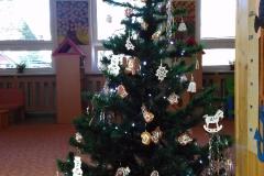 Zdobení vánočního stromečku - Krtečci