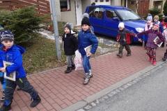 Návštěva ZŠ - předškolní třídy
