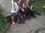 Den dětí - opékání špekáčků