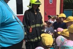 Návštěva hasičské zbrojnice