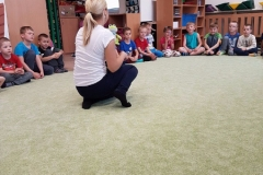 Společná dopolední aktivita (Žabičky + Vrabčáci)