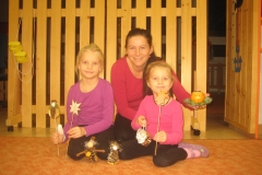Vánoční tvoření - Krtečci